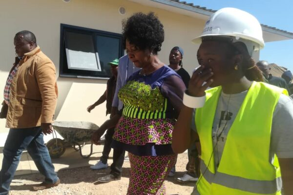 8th July 2019 -  Minister of Finance Visits Bauleni Site