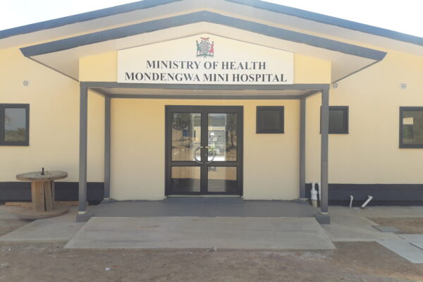 29th June 2019  - Mondengwa Mini Hospital Site Entrance