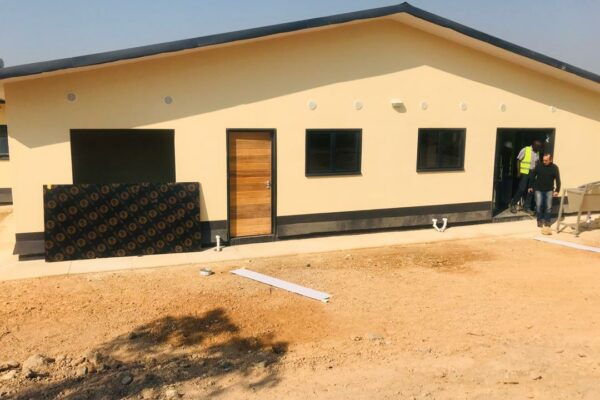 1st August 2019  - Kapanda Mini Hospital Site