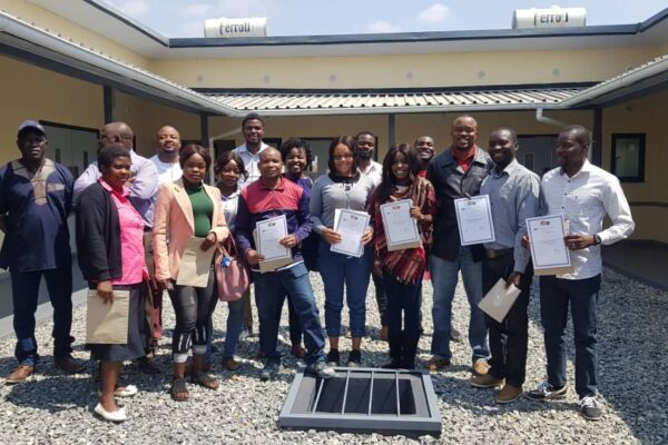 21st August 2019 - Installation, Commissioning , Maintenance and Training - Kapanda Mini Hospital Site