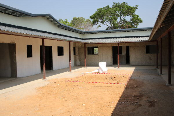18th September - Chikonshi Mini Hospital Site