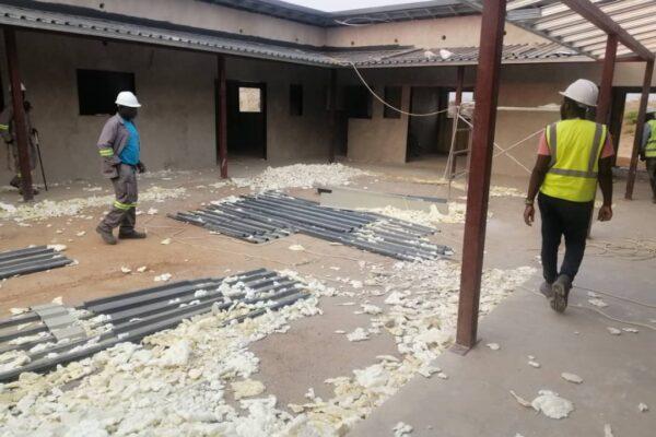25th September 2019 - Kaishe Mini Hospital Site