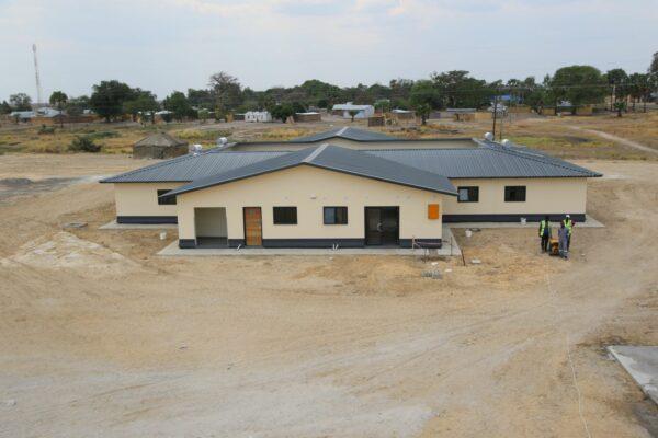 7th October 2019 - Lealui Mini Hospital Site