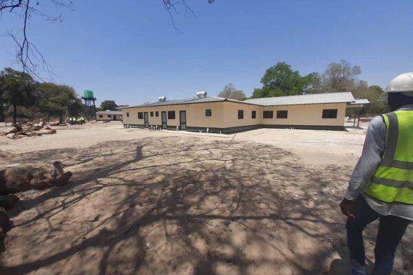 10th October 2019 - Nangweshi Mini Hospital Site