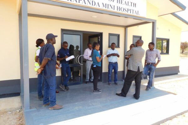 22nd October 2019 - Preparation for the Kapanda Mini Hospital Site Handover