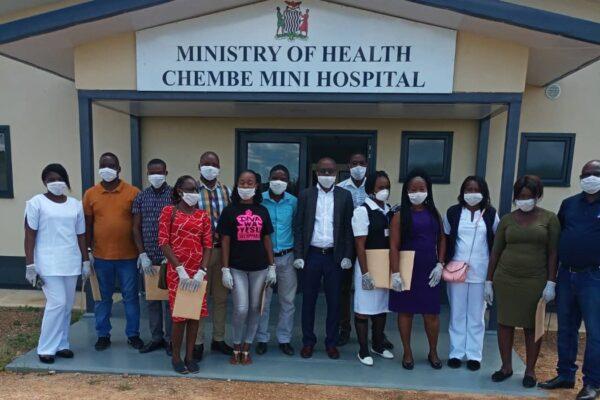 16th April 2020 - Chembe Mini Hospital Equipment End User Training Presentation