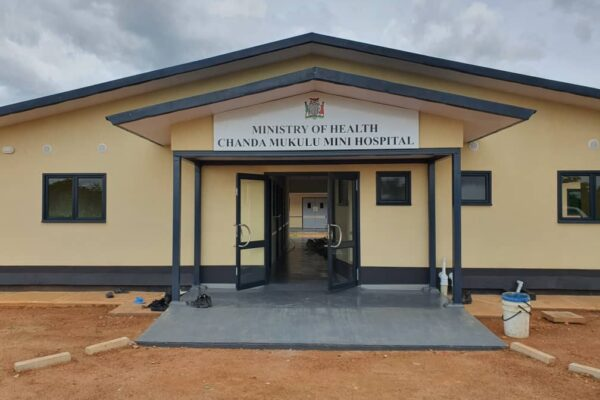 22nd January 2021 - Chanda Mukulu Mini Hospital