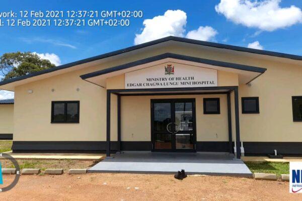 12th February 2021 - Edgar Chagwa Lungu Mini Hospital