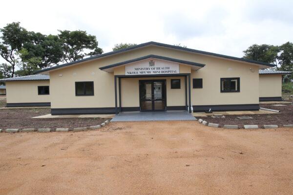 4th March 2021 - Nkole Mfumu Mini Hospital