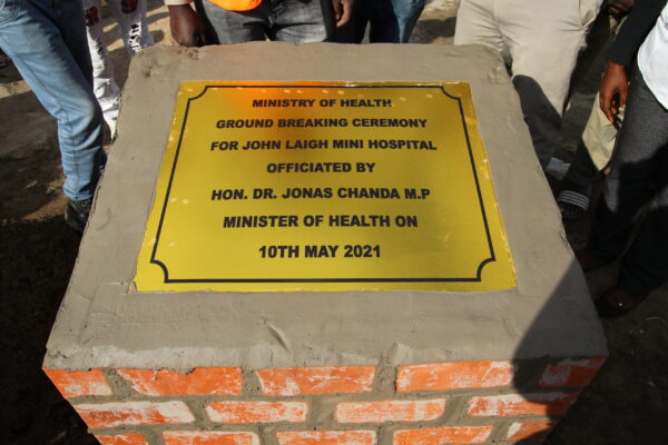 10th May 2021 - John Laigh Mini Hospital Groundbreaking Ceremony