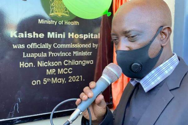 5th May 2021 - Kaishe Mini Hospital Commissioning Ceremony