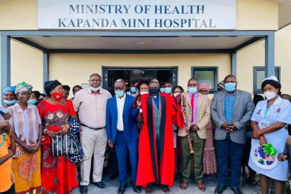 5th May 2021 - Kapanda Mini Hospital Commissioning Ceremony